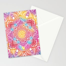 Madala Ombre Colorful Stationery Cards