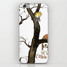Calvin and hobbes iPhone Skin