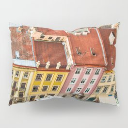 the rooftops of the city Pillow Sham