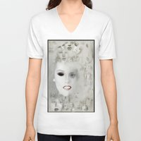 coven V-neck T-shirts featuring coven number2 by LIGGYZIGHAT