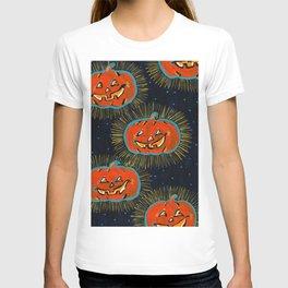 Starry Jack o' lanterns T-shirt
