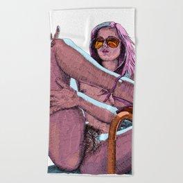 Dream baby dream Beach Towel