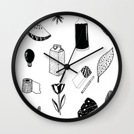 things i like on the market Wall Clock