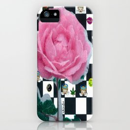 MY ROSE IS KAWAII iPhone Case