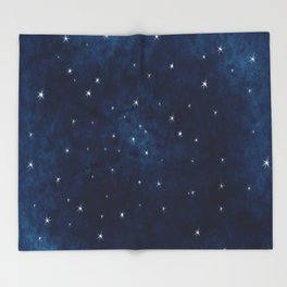 Whispers in the Galaxy Throw Blanket