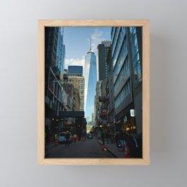 Downtown Giant Framed Mini Art Print