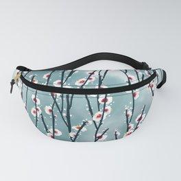 Plum Blossom Branch Pattern Fanny Pack