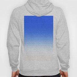 Sky Blue White Ombre Hoody