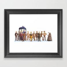 The Doctors Framed Art Print