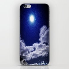 Signs in the Sky Collection I- in its original deep blue iPhone Skin