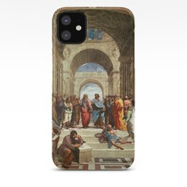 School Of Athens Painting iPhone Case