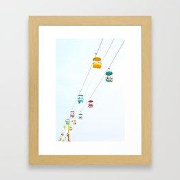 Santa Cruz Gondolas Framed Art Print