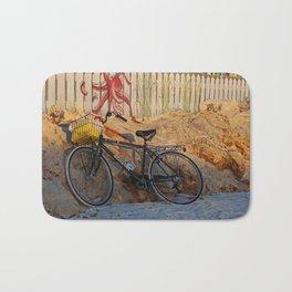 Bike on the Beach Bath Mat
