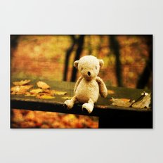 Taking the weight off my Paws Canvas Print