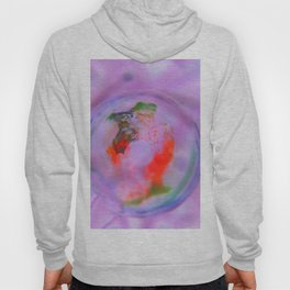 Goldfish Bubble - Abstract Photography by Fluid Nature Hoody