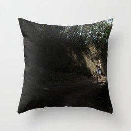 Run run Run run Run away From your Responsibilities Throw Pillow