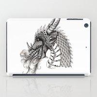 dragon iPad Cases featuring Dragon by Elisa Camera