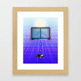Ice Hockey Framed Art Print