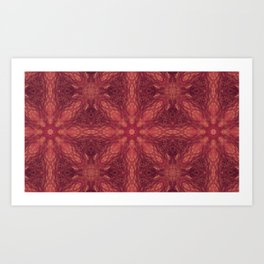 Warmth of the red dwarf  Art Print