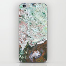 MELTED MOSS iPhone Skin