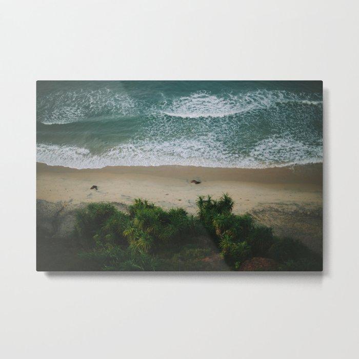 Indian Beach Metal Print