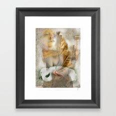 rebirth / digital painting / wacom brushwork / & photo filtering Framed Art Print
