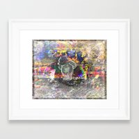 pooh Framed Art Prints featuring Pooh Reconsidered by Heidi Fairwood