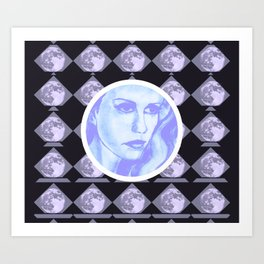 Lost Out In Space Art Print