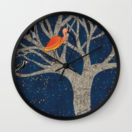 drawing is dreaming Wall Clock