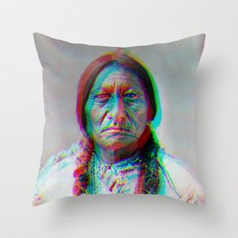 relief.  Throw Pillow