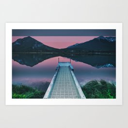 Colorscape VIII Art Print
