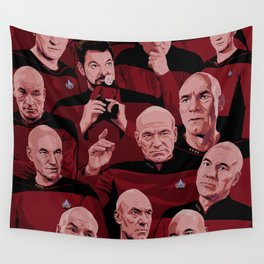 Picard Day Wall Tapestry