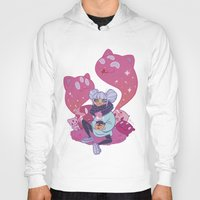 pastel goth Hoodies featuring Pastel Tea by LaRi