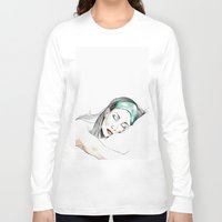 sleeping beauty Long Sleeve T-shirts featuring Sleeping Beauty by Judit Mallol