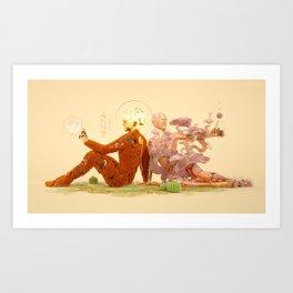 Divine Beings 02 Art Print