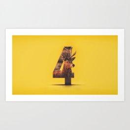 4deer Art Print