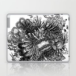 Coral Circle Laptop & iPad Skin