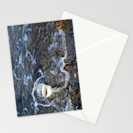 Splashing over Obstacles Stationery Cards