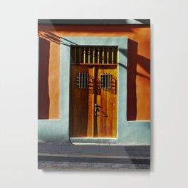 puerto rico house Metal Print