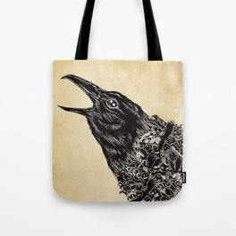 CROW-ded Tote Bag