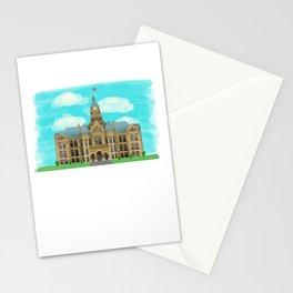 Courthouse - Warren Ohio 100 Stationery Cards