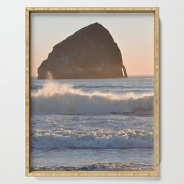 CAPE KIWANDA SUNSET - OREGON Serving Tray