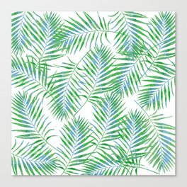 Fern Leaves Canvas Print