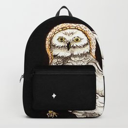 Starry Night Owl Backpack