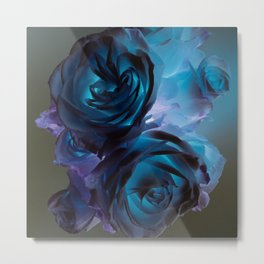 The Modern Rose Bunch Metal Print