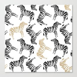 Zebra Pattern | Show Your Stripes Canvas Print