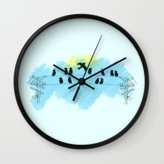 Pájaro Wall Clock