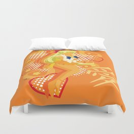 Soldier of Love and Beauty Duvet Cover