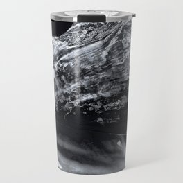See Shell Sea Shell in Black and White Travel Mug