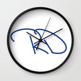 RD Wall Clock